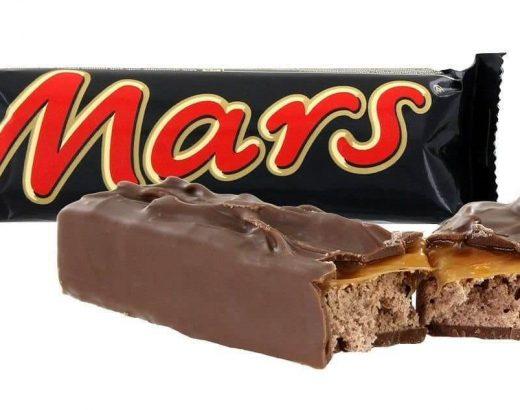 chocolatina mars