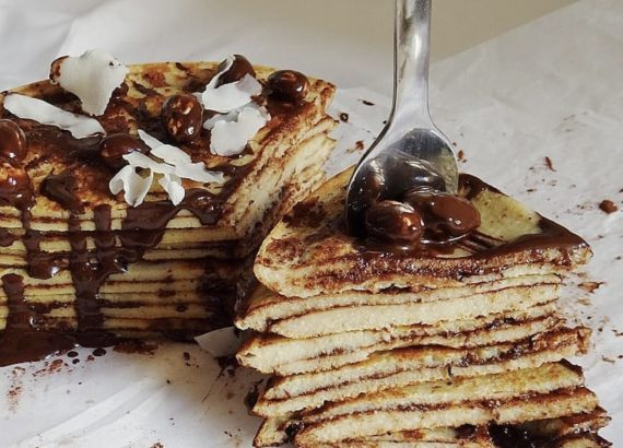 TORTITAS RELLENAS DE CHOCOLATE